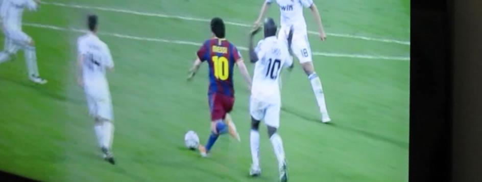 Gol histórico de Messi contra o Real Madrid