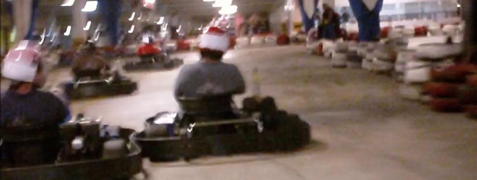 2ª Corrida de Kart dos Malucos (câmera no capacete)