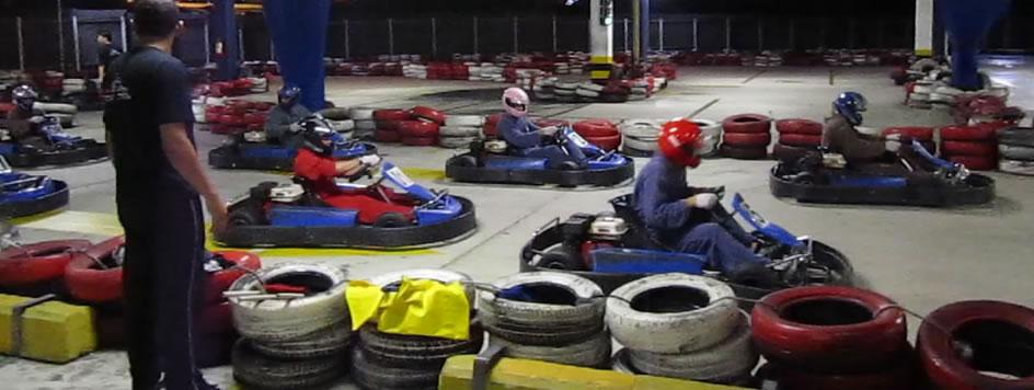 1ª Corrida de Kart dos Malucos