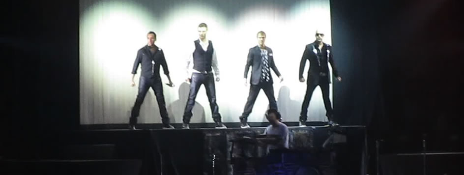 O dia em que fui pro show dos Backstreet Boys